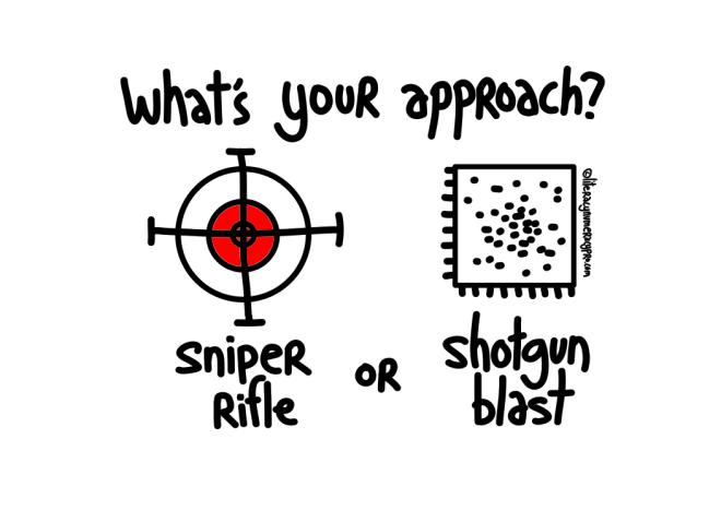 sniper or shotgun