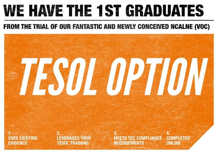 TESOL Grads