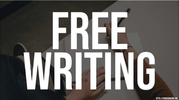 Free writing Learn to write Supercharge your writing