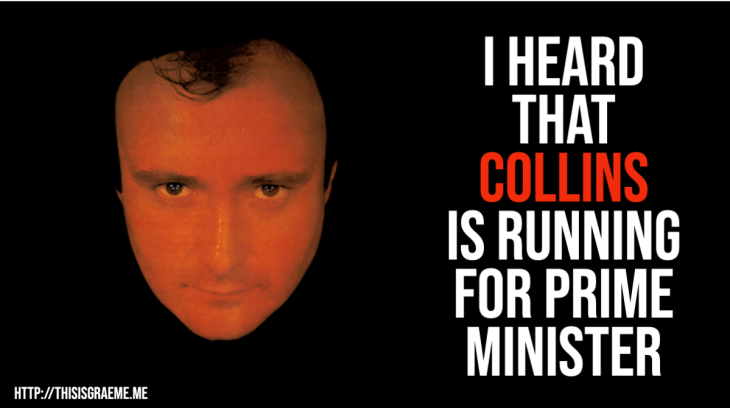 I heard that Collins is running for Prime Minister. This is what happens when Americans hear about New Zealand politics. Come for the clickbait, stay for the memes.