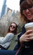 Central Park hangs.