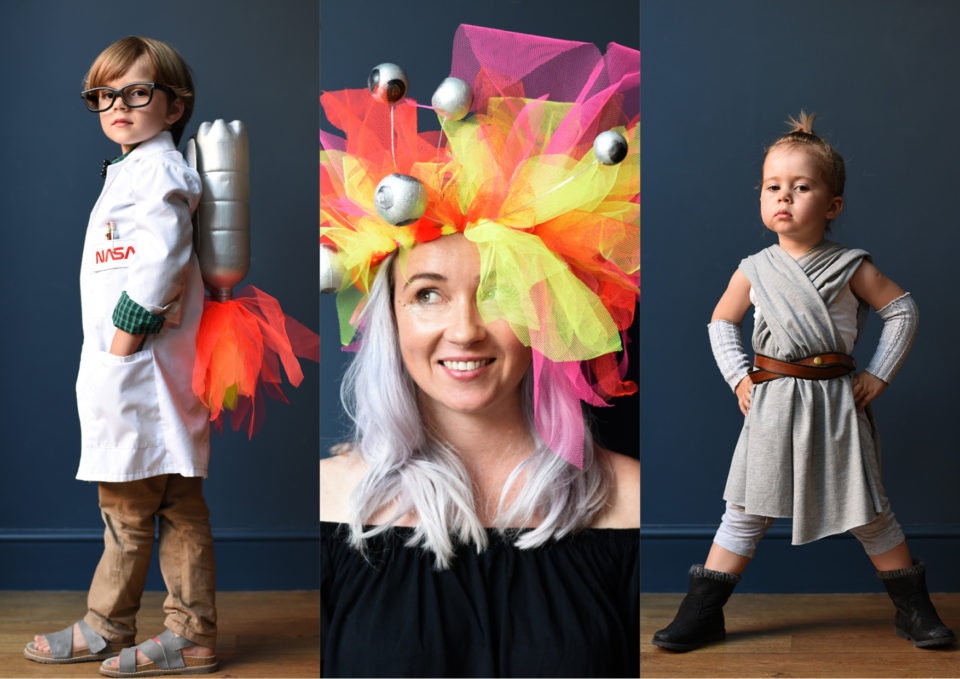 Do you ever feel that halloween creeps up on you or that you're never actually ready when the day arrives? Diy Space Costume Ideas Get Ready For Blast Off Ladylandladyland