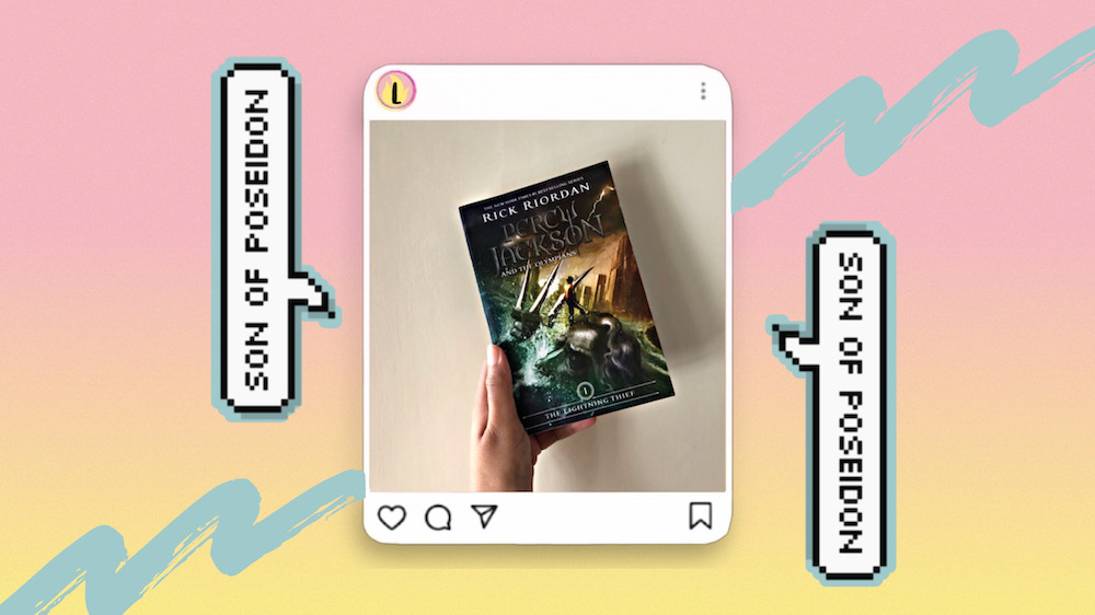Reading Percy Jackson and the Olympians for the first time as an adult.