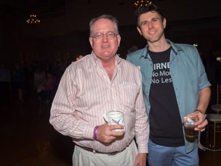 Mike Mattingly and Chris Hartman.