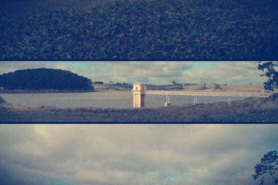 The dam at Malmsbury, Victoria