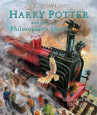 Harry Potter and the Philosopher's Stone by JK Rowling (Illustrated Edition)