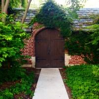 Door to the gardens