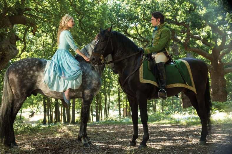 Love at first horse ride. Cinderella, 2015.
