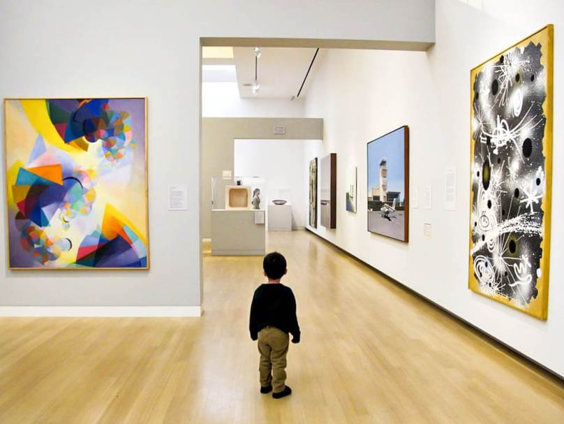 Image result for kids visiting museum