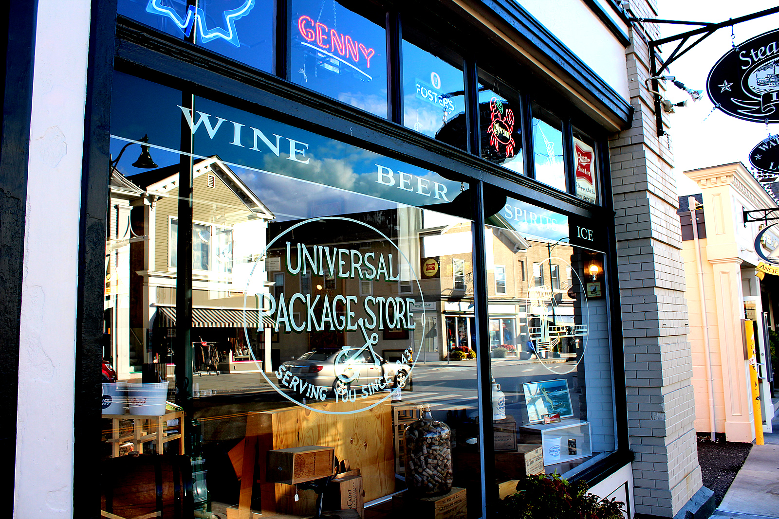 Universal Package Store In Mystic