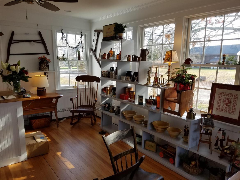 Red Head Heron Antique Shop