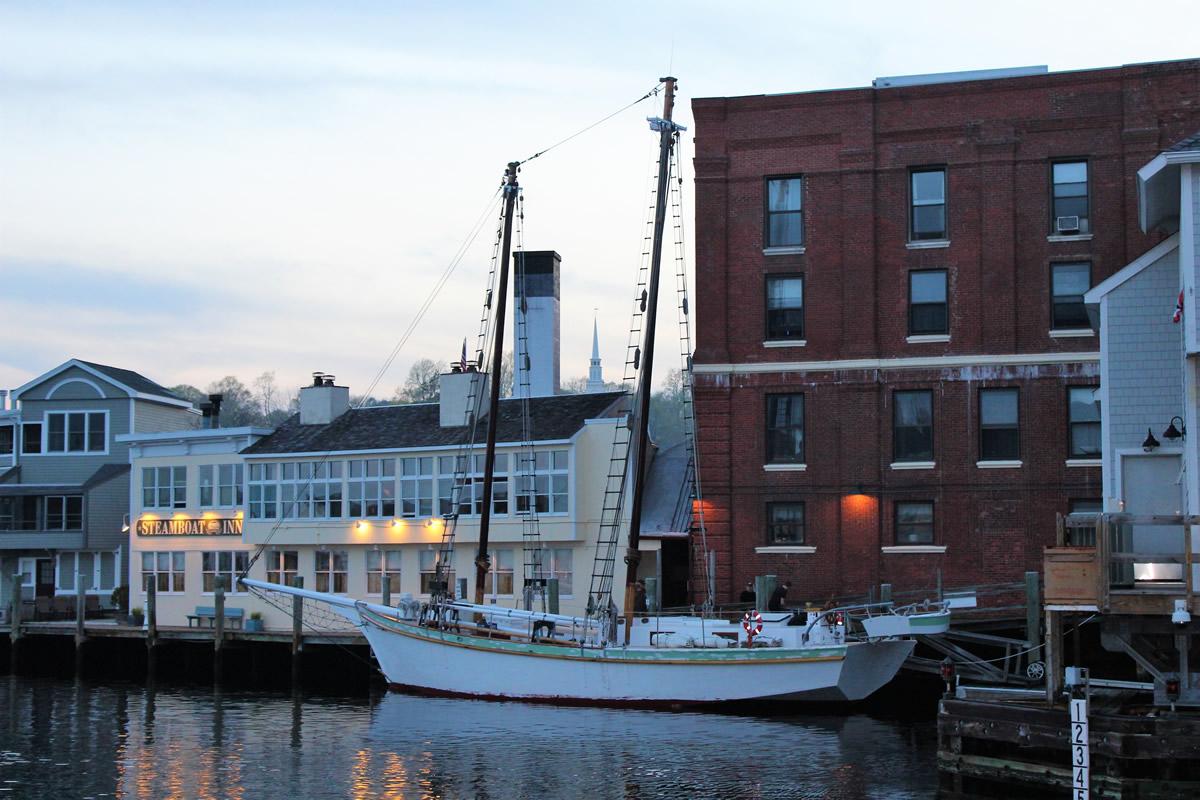 Argia At Steamboat Wharf