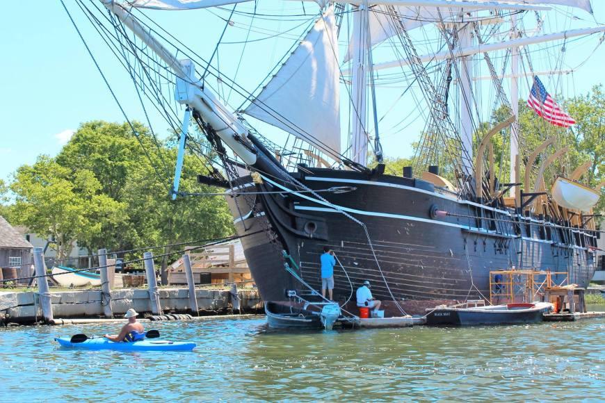 mystic seaport tall ship