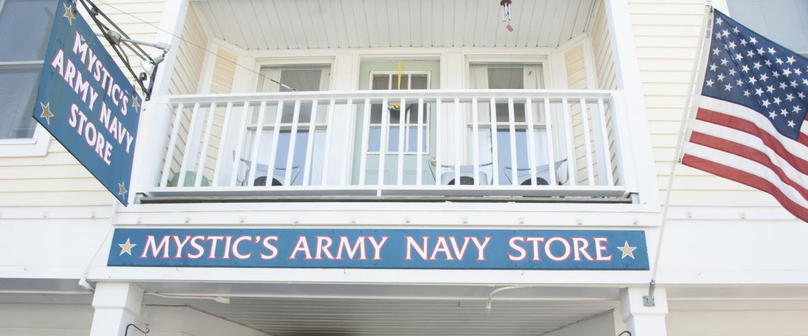 Mystic Army Navy Store | This Is Mystic, CT