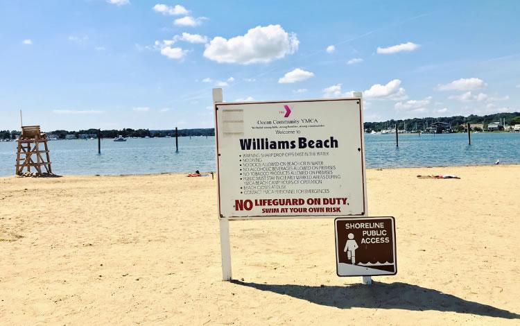 Williams Beach at Mystic YMCA