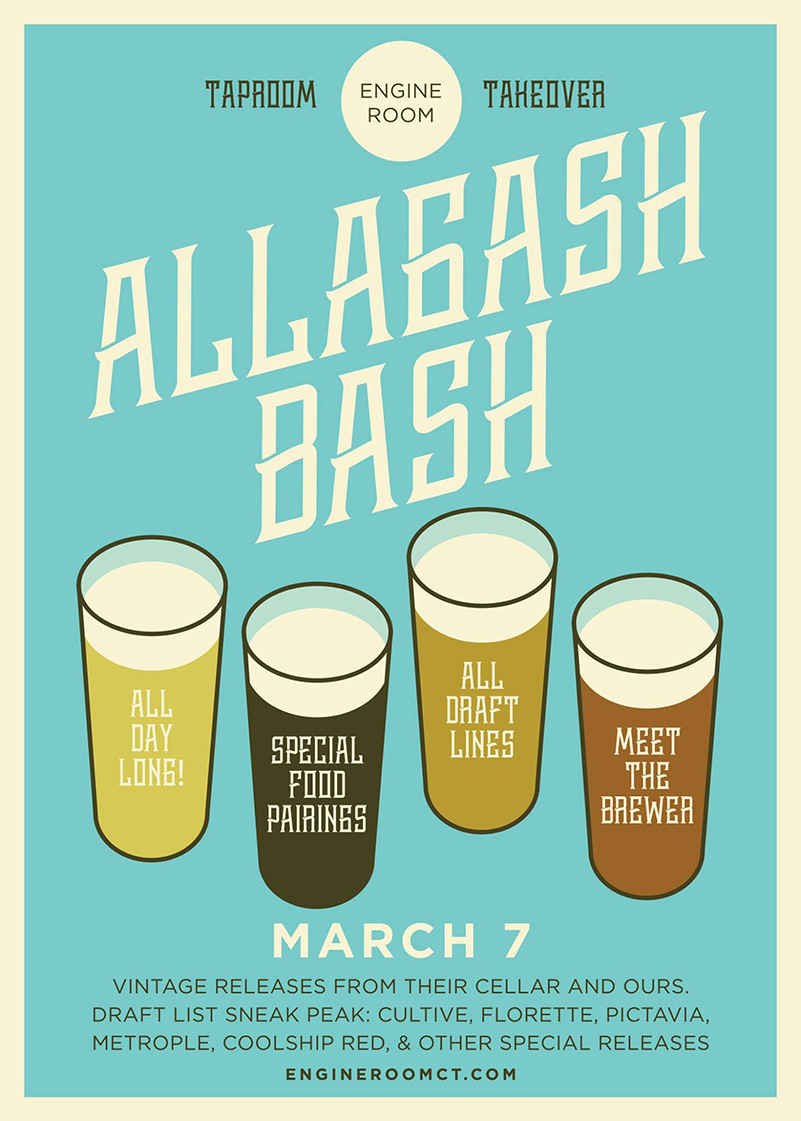 Engine Room Mystic Ct: Taproom Takeover At Engine Room: Alagash Bash In Mystic, CT