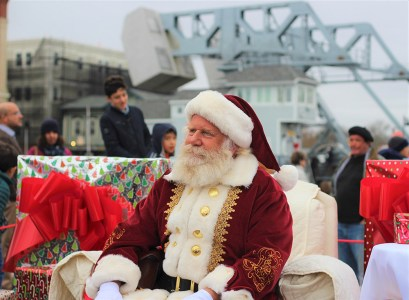 Santa in Mystic