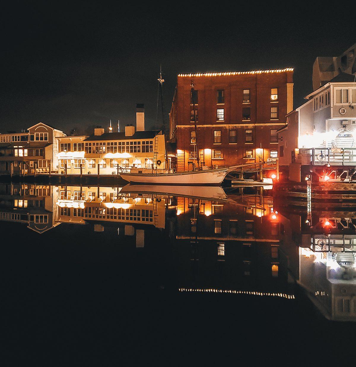 steamboat inn night