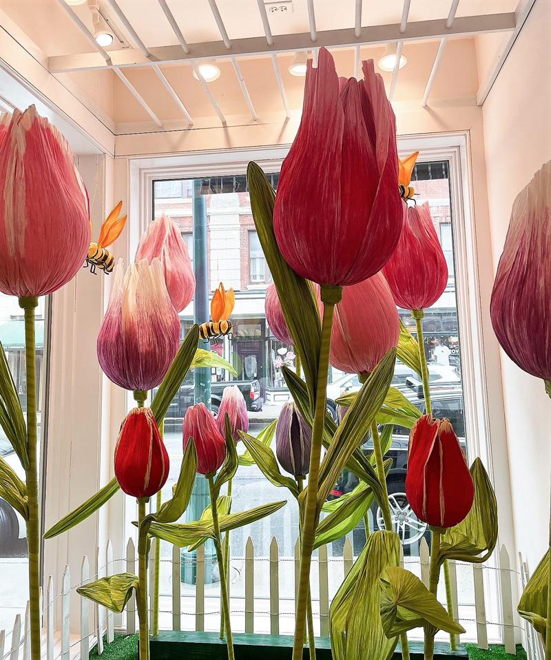 Tulip Window Display