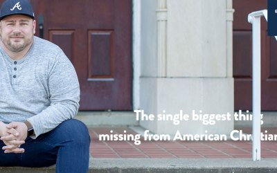 The biggest thing missing from American Christianity
