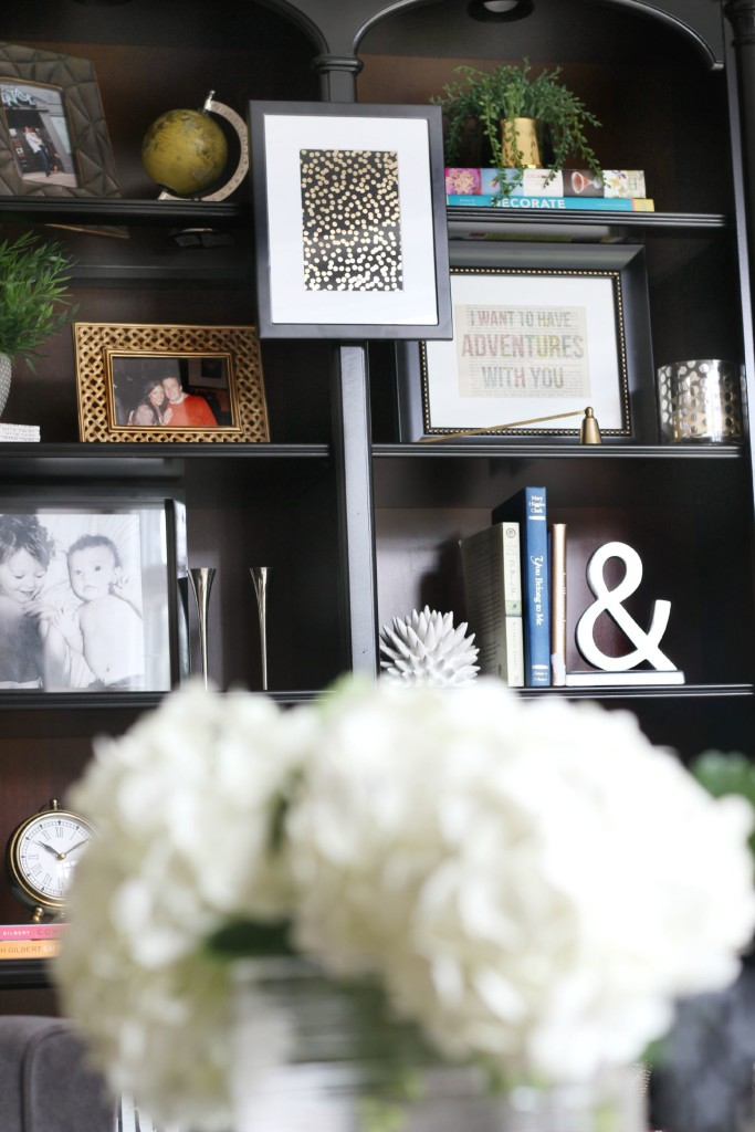 Bookcase styling | How to style a bookcase | This is our Bliss