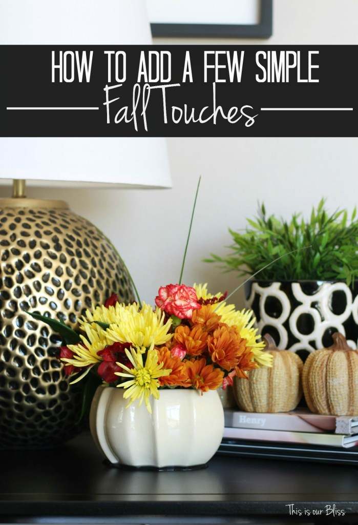 Simple Fall Wreath: How To Add A Few Simple Fall Touches
