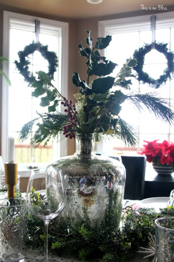 holiday table - christmas tablesetting - This is our Bliss