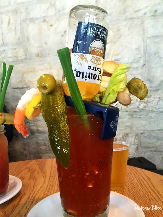 Bloody Mary @ Sobelman's Milwaukee - thisisourbliss.com