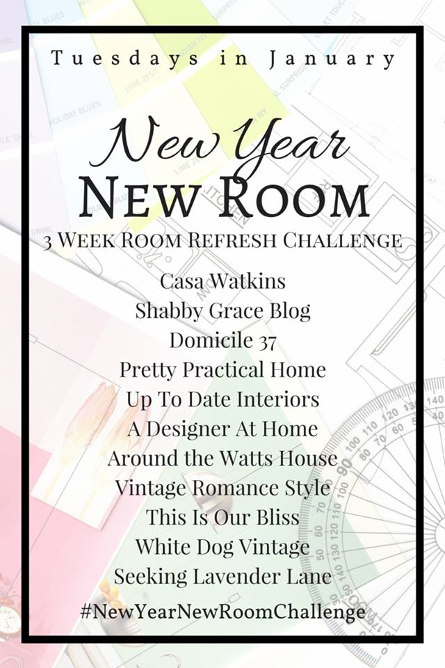 New Year, New Room Refresh challenge graphic