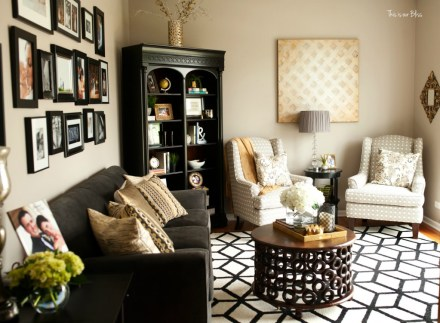 This is our Bliss in-home shoot - formal living room - thisisourbliss.com