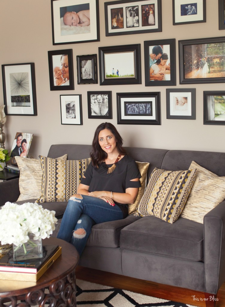 This is our Bliss in-home shoot - living room - thisisourbliss.com