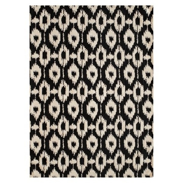 Sophia black and white area rug   top black and white rugs   This is our Bliss