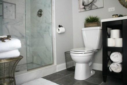 Image result for white basement bathroom