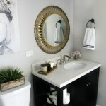 How To Create A Neutral Glam Basement Bathroom This Is Our Bliss