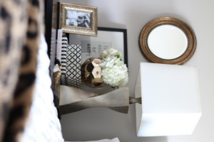 How to style a nightstand   Nightstand styling tips and essentials   This is our Bliss