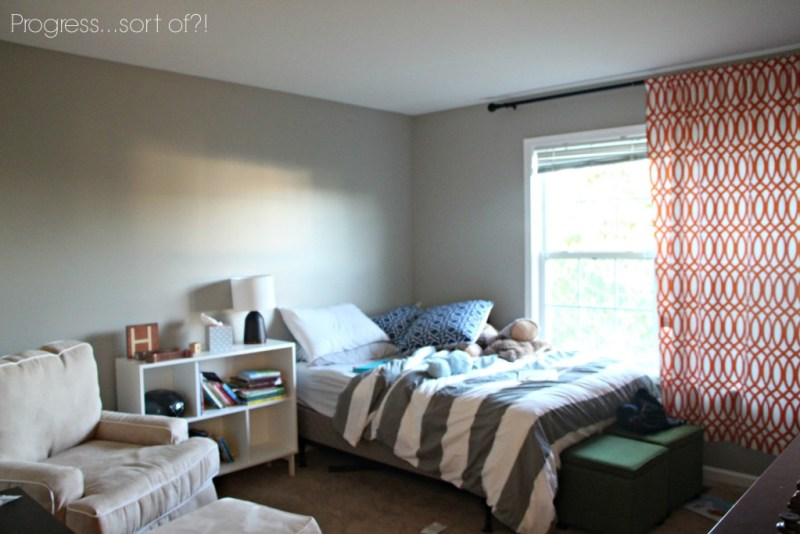Making progress on the big boy room!!   This is our Bliss   www.thisisourbliss.com