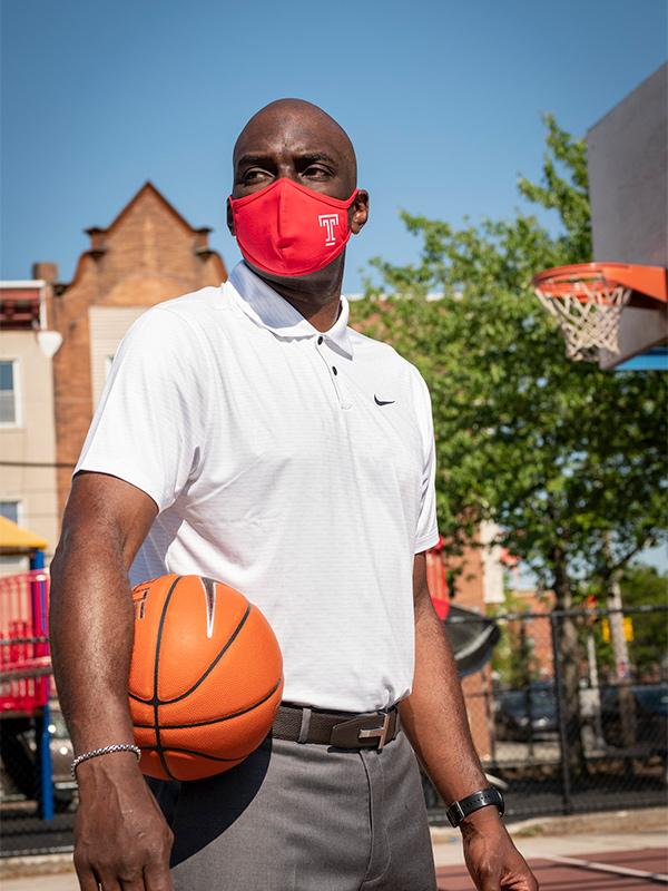 Temple Mens Basketball Coach Aaron McKie