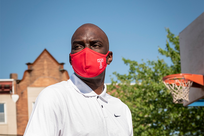 Aaron McKie, Coach of the Temple Men's Basketball Team