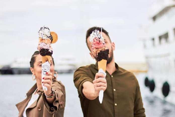 Παγωτό στον Πειραιά