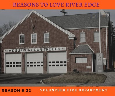 Reasons to Love River Edge - Volunteer Fire Department