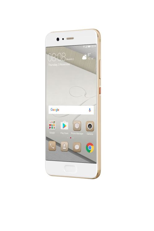 Huawei P10 gold front