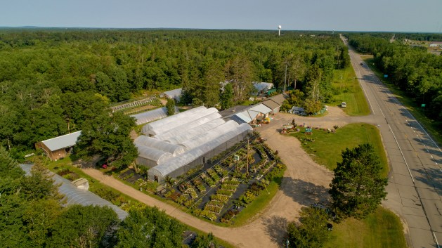Pequot Lakes, Mohs Auctions, The Treehouse, Greenhouse, Nursery, Patriot Avenue, Minnesota