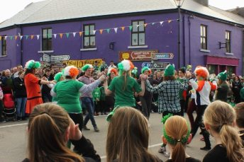 Dancing in Louisburgh Square 2015