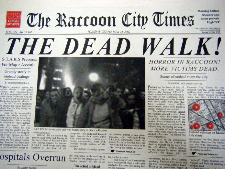 Cronache Da Raccoon City - Ripartire!