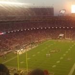 Sunset over Levi's Stadium