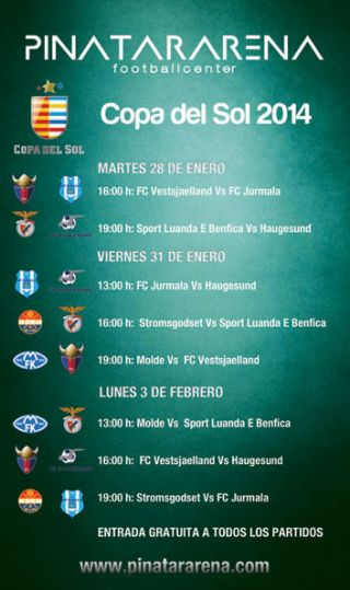 The schedule of matches