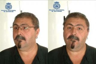 Rafael Robles García is described as 53 years of age, 170 centimetres tall, thick set, with a greying, long goatee beard, although he may now be clean shaven. He normally wears glasses, but not always.
