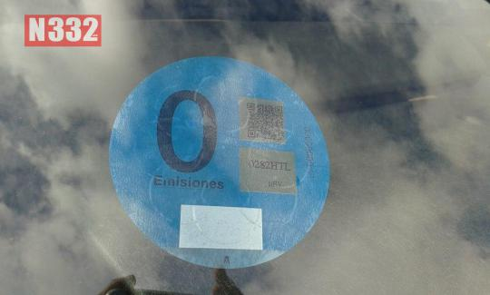 20150417 - Spain Launches Eco Friendly Vehicle Badge 3