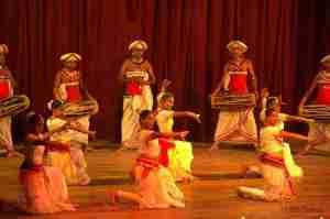 danzas de sri lanka
