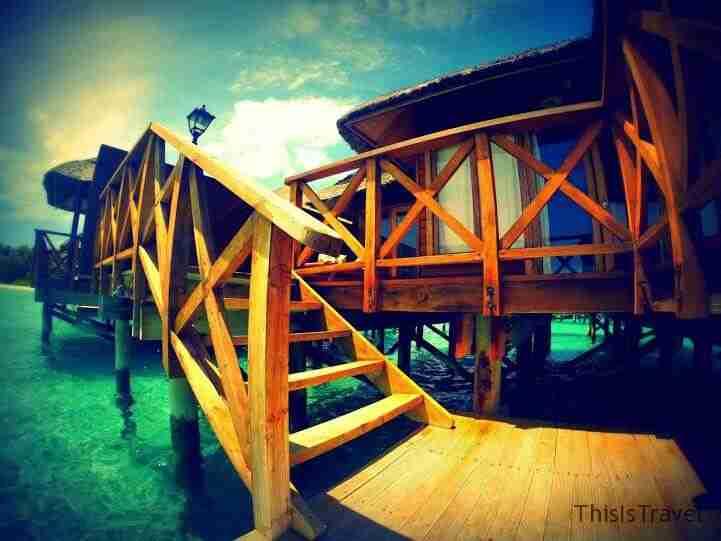 Water Bungalow en maldivas